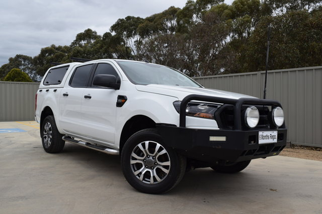 Used Ford Ranger PX MkII XL Hi-Rider Echuca, 2016 Ford Ranger PX MkII XL Hi-Rider White 6 Speed Sports Automatic Utility
