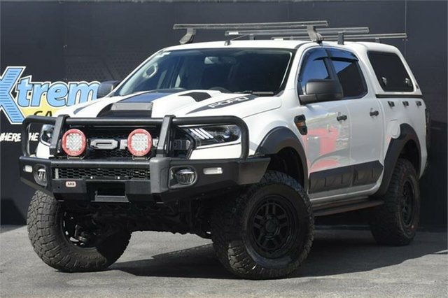 Used Ford Ranger PX MkII XL Campbelltown, 2016 Ford Ranger PX MkII XL White 6 Speed Sports Automatic Utility