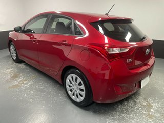 2016 Hyundai i30 GD4 Series II MY17 Active Fiery Red 6 Speed Manual Hatchback