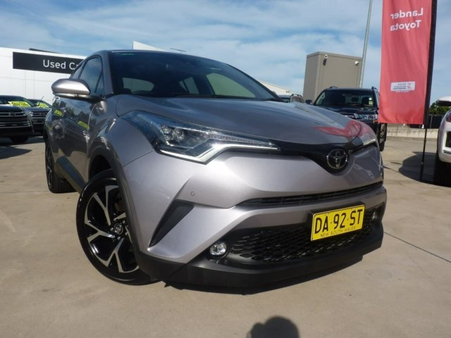 Pre-Owned Toyota C-HR NGX10R Koba S-CVT 2WD Blacktown, 2019 Toyota C-HR NGX10R Koba S-CVT 2WD Silver 7 Speed Constant Variable Wagon