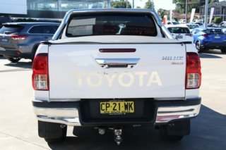 2017 Toyota Hilux GUN126R 4x4 Glacier White 6 Speed Automatic Dual Cab Chassis
