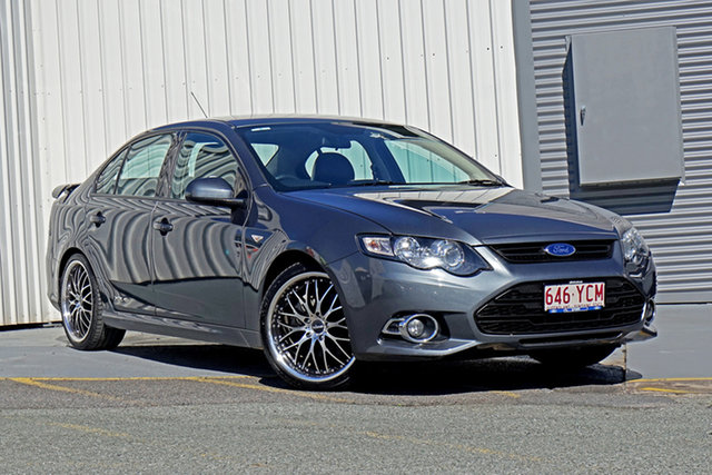 Used Ford Falcon FG MkII XR6 Turbo Springwood, 2014 Ford Falcon FG MkII XR6 Turbo Grey 6 Speed Sports Automatic Sedan