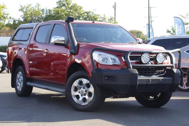 Used Holden Colorado RG MY14 LTZ Crew Cab Mount Gravatt, 2014 Holden Colorado RG MY14 LTZ Crew Cab Red 6 Speed Sports Automatic Utility
