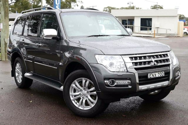 Used Mitsubishi Pajero NX MY21 Exceed North Gosford, 2020 Mitsubishi Pajero NX MY21 Exceed Grey 5 Speed Sports Automatic Wagon
