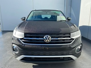 2021 Volkswagen T-Cross C1 MY21 85TSI Style Deep Black Pearl Effect 7 Speed Auto Direct Shift Wagon.