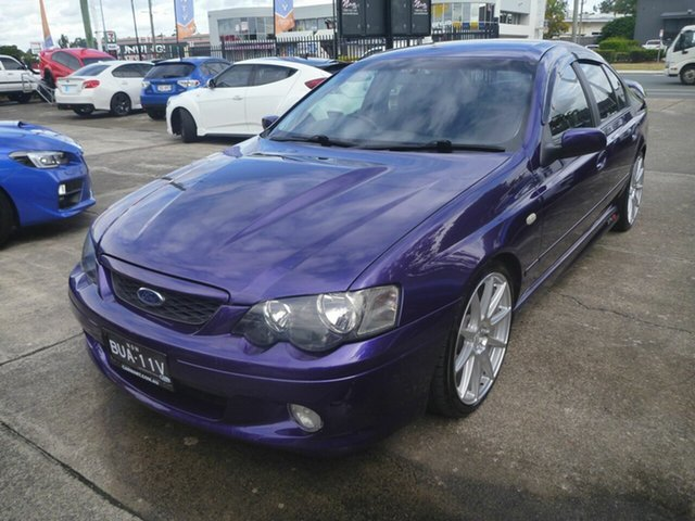 Used Ford Falcon BA Mk II XR8 Morayfield, 2004 Ford Falcon BA Mk II XR8 Purple 4 Speed Sports Automatic Sedan