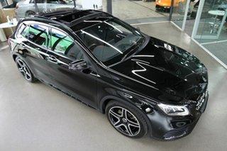 2018 Mercedes-Benz GLA-Class X156 809+059MY GLA250 DCT 4MATIC Black 7 Speed