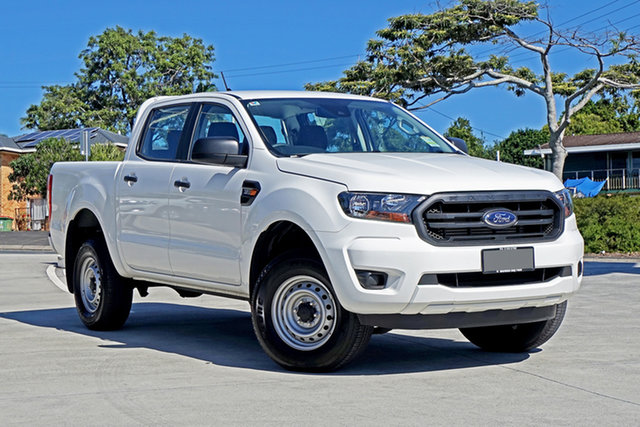 Used Ford Ranger PX MkIII 2021.25MY XL Capalaba, 2020 Ford Ranger PX MkIII 2021.25MY XL Arctic White 6 Speed Sports Automatic Double Cab Pick Up