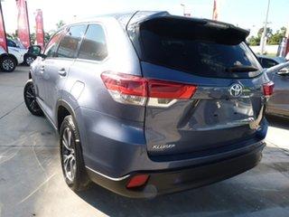 2019 Toyota Kluger GSU55R GX AWD Cosmos Blue 8 Speed Sports Automatic Wagon.