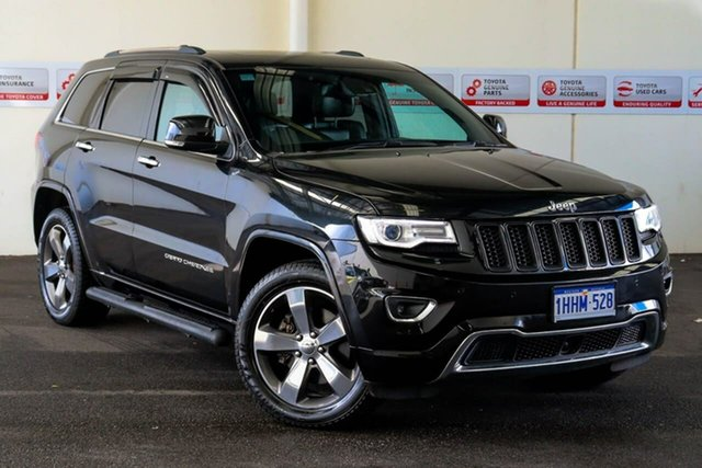 Pre-Owned Jeep Grand Cherokee WK MY15 Overland (4x4) Rockingham, 2015 Jeep Grand Cherokee WK MY15 Overland (4x4) 8 Speed Automatic Wagon