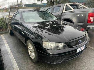 2006 Ford Falcon BF XLS (LPG) Black 4 Speed Auto Seq Sportshift Utility.