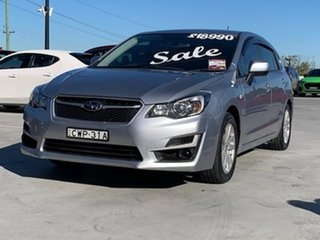 2015 Subaru Impreza G4 MY15 2.0i Lineartronic AWD Silver 6 Speed Constant Variable Hatchback