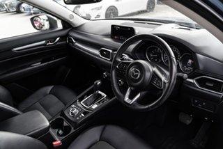 2017 Mazda CX-5 KF Series Touring Blue Sports Automatic SUV