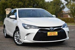 2016 Toyota Camry ASV50R Atara SL White 6 Speed Sports Automatic Sedan.