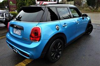 2017 Mini Hatch F55 Cooper S Blue 6 Speed Sports Automatic Hatchback.