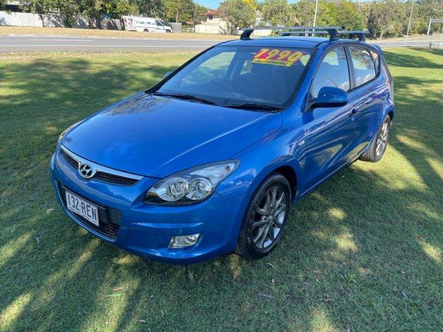 Used Hyundai i30 FD MY11 Trophy Clontarf, 2010 Hyundai i30 FD MY11 Trophy Blue 4 Speed Automatic Hatchback