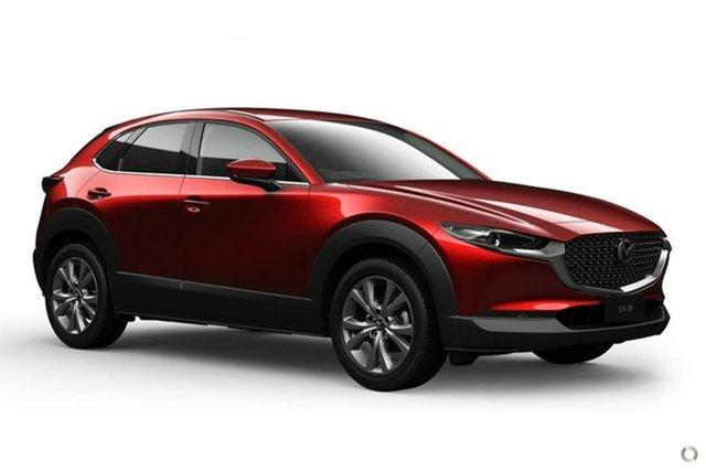 New Mazda CX-30 DM4WLA G25 SKYACTIV-Drive i-ACTIV AWD Touring Waitara, 2021 Mazda CX-30 DM4WLA G25 SKYACTIV-Drive i-ACTIV AWD Touring Red 6 Speed Sports Automatic Wagon