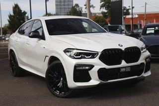 2020 BMW X6 G06 xDrive30d Coupe Steptronic M Sport White 8 Speed Sports Automatic Wagon.