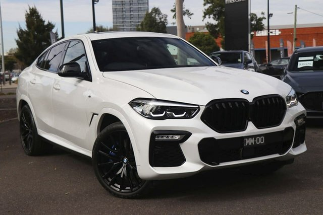 Used BMW X6 G06 xDrive30d Coupe Steptronic M Sport South Melbourne, 2020 BMW X6 G06 xDrive30d Coupe Steptronic M Sport White 8 Speed Sports Automatic Wagon