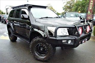 2008 Toyota Landcruiser VDJ200R GXL Black 6 Speed Sports Automatic Wagon.