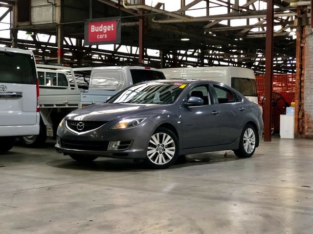 Used Mazda 6 GH1051 Classic Mile End South, 2008 Mazda 6 GH1051 Classic Grey 5 Speed Sports Automatic Sedan