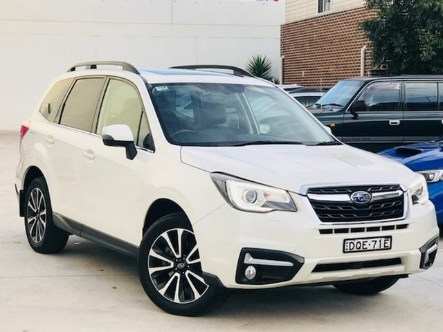 Used Subaru Forester S4 MY17 2.0D-S CVT AWD Liverpool, 2017 Subaru Forester S4 MY17 2.0D-S CVT AWD White 7 Speed Constant Variable Wagon