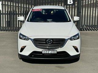 2019 Mazda CX-3 DK2W76 Maxx SKYACTIV-MT FWD Sport White 6 Speed Manual Wagon.