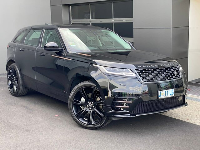 Used Land Rover Range Rover Velar L560 MY20 Standard R-Dynamic SE Hobart, 2020 Land Rover Range Rover Velar L560 MY20 Standard R-Dynamic SE Black 8 Speed Sports Automatic