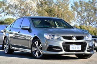 2014 Holden Commodore VF MY14 SV6 Grey 6 Speed Manual Sedan.