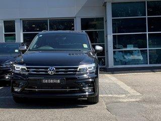 2020 Volkswagen Tiguan 5N MY20 140TDI Highline DSG 4MOTION Allspace Black 7 Speed.
