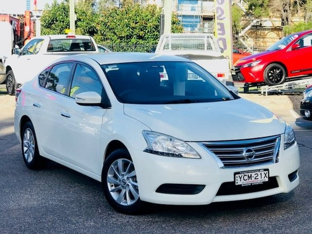Used Nissan Pulsar B17 Series 2 ST Liverpool, 2015 Nissan Pulsar B17 Series 2 ST White 1 Speed Constant Variable Sedan