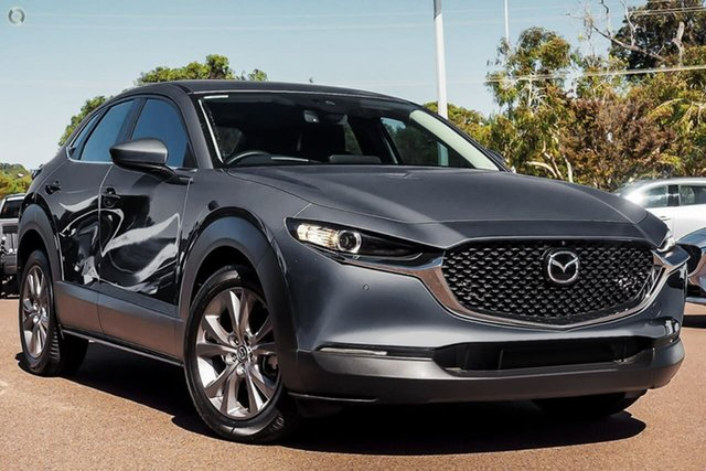 New Mazda CX-30 DM2W7A G20 SKYACTIV-Drive Evolve Waitara, 2021 Mazda CX-30 DM2W7A G20 SKYACTIV-Drive Evolve Grey 6 Speed Sports Automatic Wagon