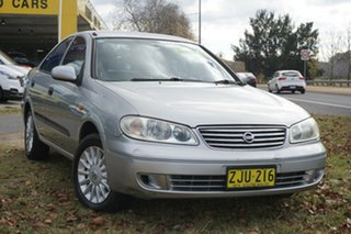 2004 Nissan Pulsar N16 S2 MY2003 ST Silver 4 Speed Automatic Hatchback.