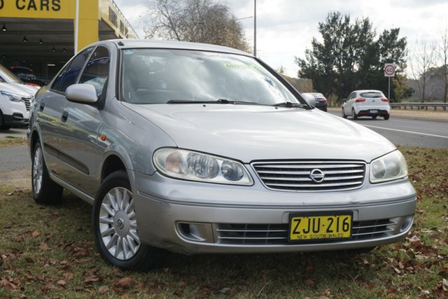 Used Nissan Pulsar N16 S2 MY2003 ST Phillip, 2004 Nissan Pulsar N16 S2 MY2003 ST Silver 4 Speed Automatic Hatchback
