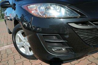 2010 Mazda 3 BL10F1 Maxx Activematic Black 5 Speed Sports Automatic Hatchback.