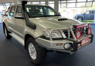 2012 Toyota Hilux KUN26R MY12 SR5 Double Cab Silver 5 Speed Manual Utility.