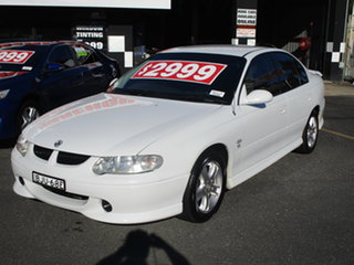 2001 Holden Commodore VX S White 4 Speed Automatic Sedan.