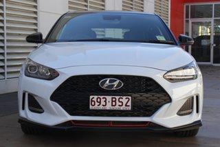 2019 Hyundai Veloster JS MY20 Turbo Coupe Premium Chalk White 6 Speed Manual Hatchback