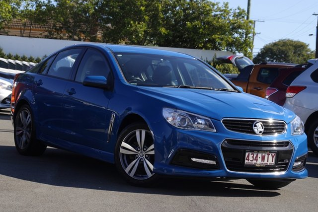 Used Holden Commodore VF MY15 SV6 Mount Gravatt, 2015 Holden Commodore VF MY15 SV6 Blue 6 Speed Sports Automatic Sedan