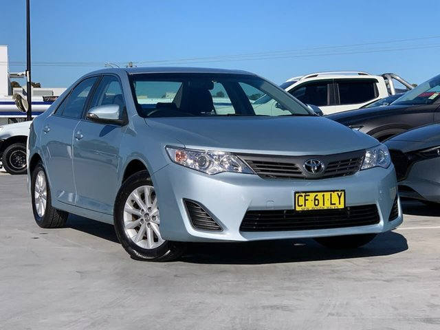 Used Toyota Camry ASV50R Altise Liverpool, 2014 Toyota Camry ASV50R Altise Blue 6 Speed Sports Automatic Sedan