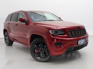 2014 Jeep Grand Cherokee WK MY14 Blackhawk (4x4) Red 8 Speed Automatic Wagon.