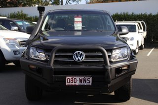 2015 Volkswagen Amarok 2H MY15 TDI420 4MOTION Perm Core Black 8 Speed Automatic Cab Chassis.