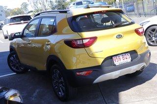 2020 Kia Stonic YB MY21 Sport FWD Mighty Yellow 6 Speed Automatic Wagon.