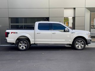 2019 Ford F150 (No Series) Lariat White 10 Speed Automatic Utility.