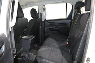 2017 Toyota Hilux GUN126R SR (4x4) White 6 Speed Manual Dual Cab Chassis