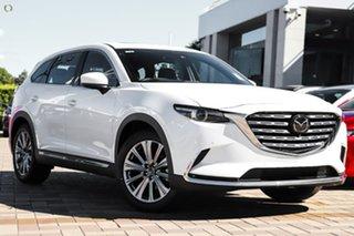 2021 Mazda CX-9 TC Azami LE SKYACTIV-Drive i-ACTIV AWD White 6 Speed Sports Automatic Wagon.