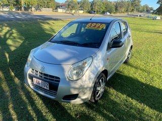 2010 Suzuki Alto GF GL Silver 4 Speed Automatic Hatchback.