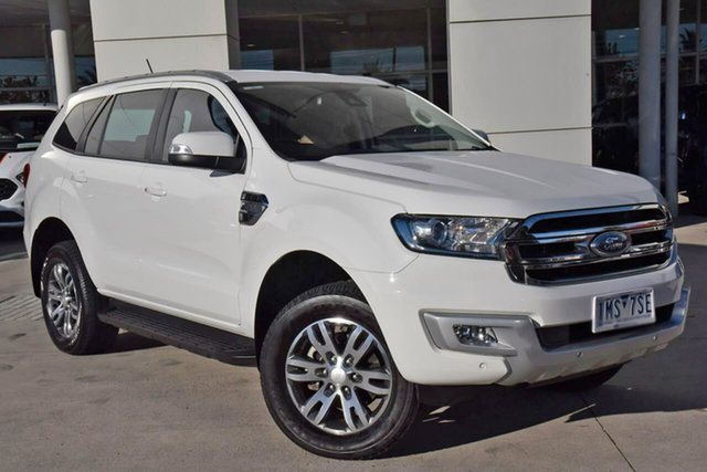 Used Ford Everest UA 2018.00MY Trend Oakleigh, 2018 Ford Everest UA 2018.00MY Trend White 6 Speed Sports Automatic SUV