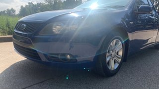 2008 Ford Falcon R6 Blue 4 Speed Automatic Utility.