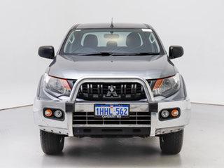 2018 Mitsubishi Triton MQ MY18 GLX Plus (4x4) Grey 5 Speed Automatic Dual Cab Utility.